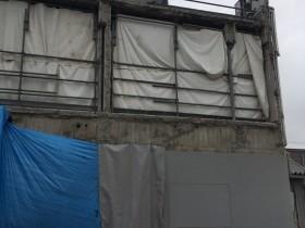 某カーディーラー様 壁下地鉄骨工事