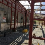 長野県伊那市某工場鉄骨施工致しました