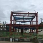 某リサイクルセンター事務所棟施工致しました