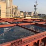 岡崎市 鉄骨工事始まりました