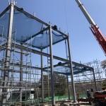 長野県 某工場 鉄骨工事始まりました
