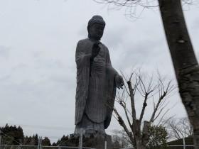 茨城県牛久大仏の近くまで出張してきました。