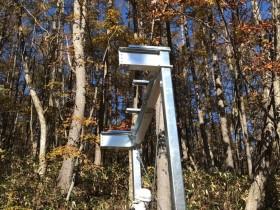 岐阜県荘川にて鉄骨工事始まりました。