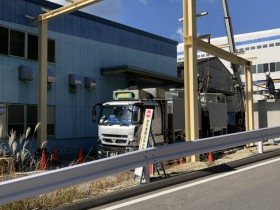 岐阜県中津川市にて鉄骨工事行いました。