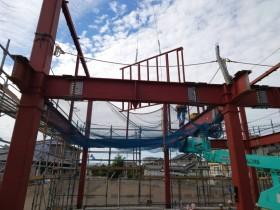 愛知県稲沢市にて 鉄骨工事始まりました